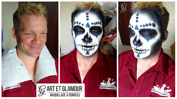 maquillage halloween a domicile
